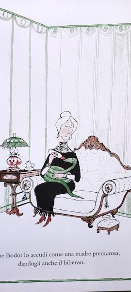 Madame Bodot e il serpente