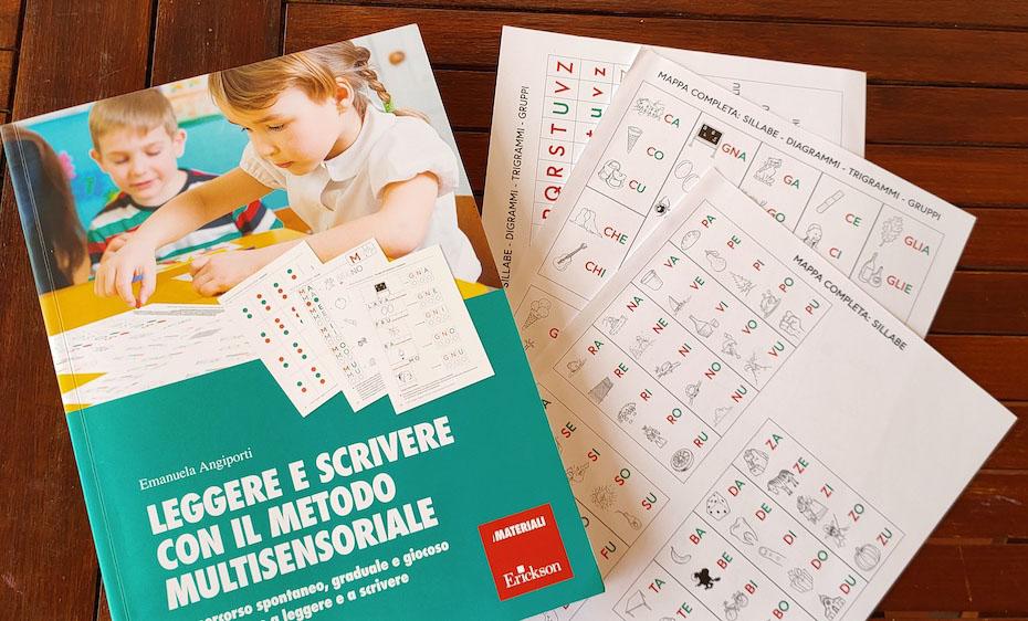 Leggere e scrivere con il metodo multisensoriale-Emanuela Angiporti Erickson