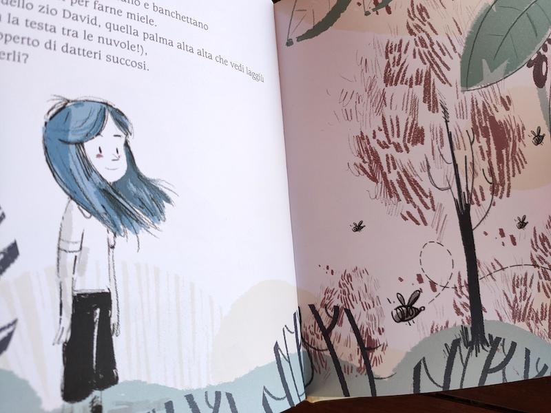interni del libro l'albero di Sara