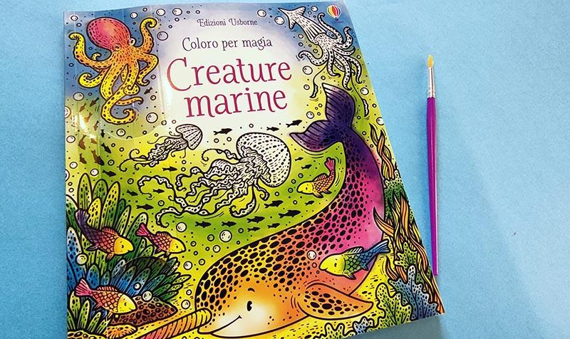Coloro per magia creature marine