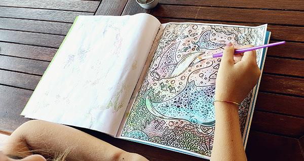 Ilaria dipinge il libro