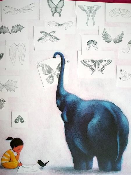 l'elefante sogna un paio d'ali