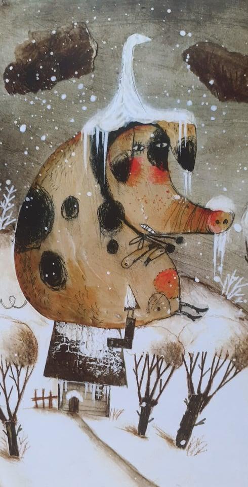 dettagli del libro L'Inverno degli animali