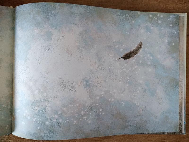 la piuma dell'uccellino