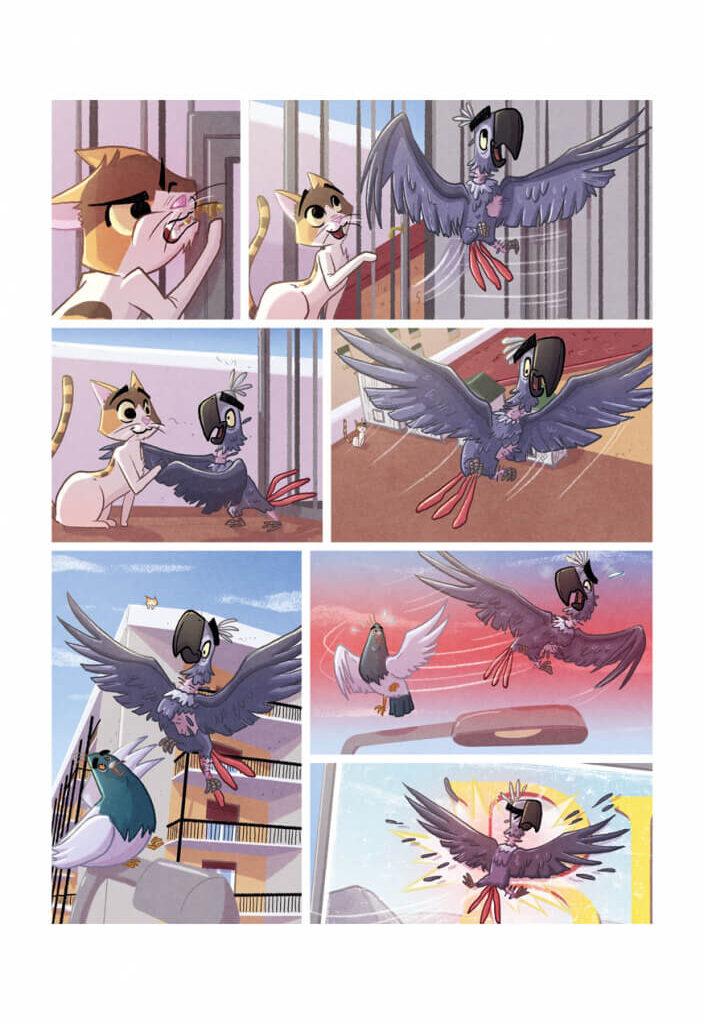 Brina incontra il piccione