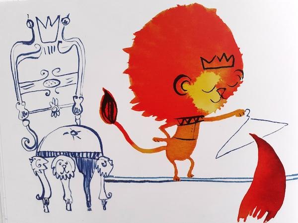 il leone risolve la situazione