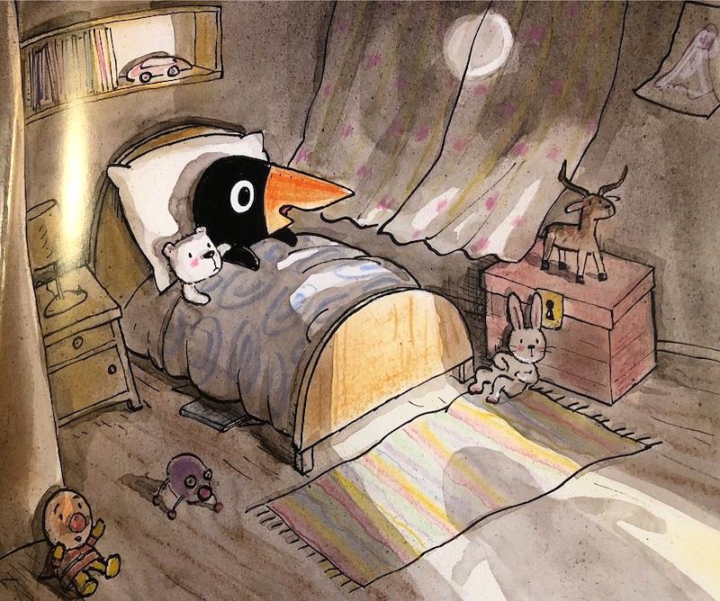 interni di Un fantasma nella mia stanza