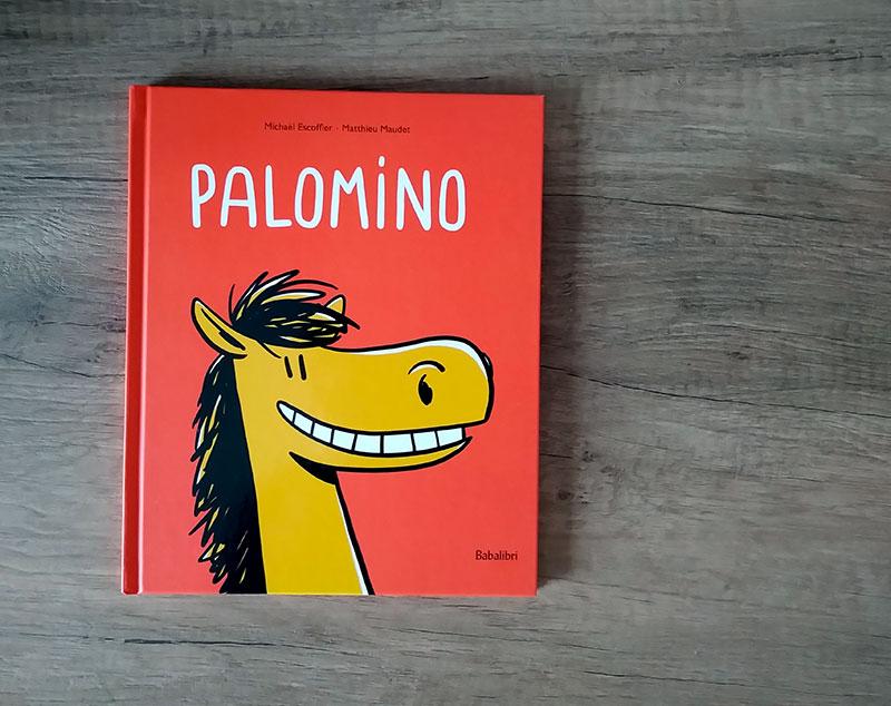 la copertina di Palomino