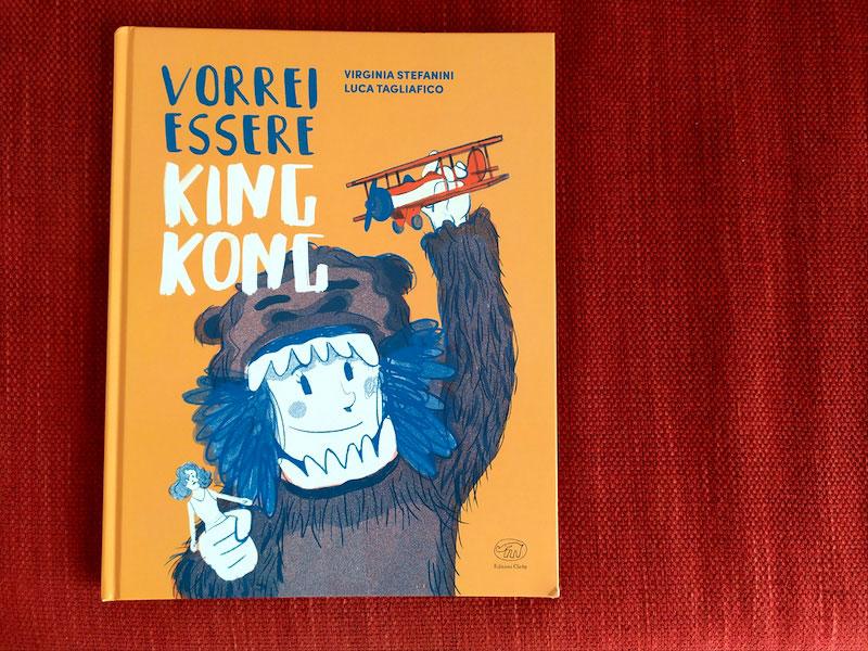 Vorrei essere King Kong, copertina