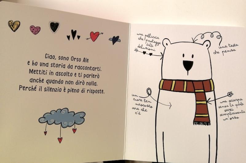 L'orso Ale si sente strano