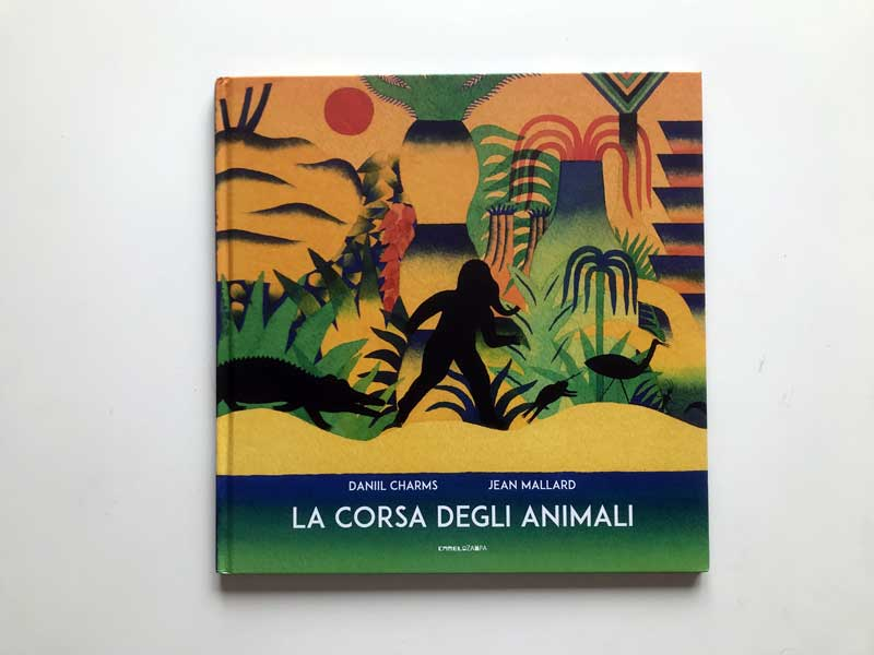 copertina di La corsa degli animali